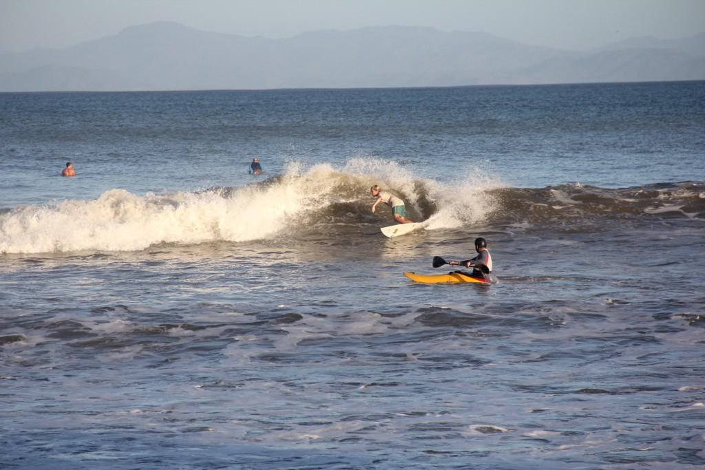 Surfing around Jaco